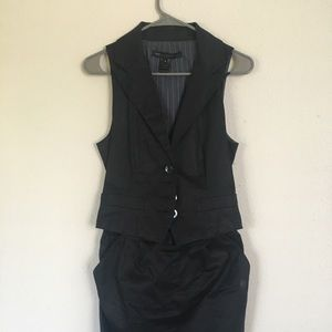 Marc by Marc Jacobs skirt and vest suit set